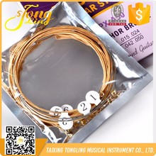Cheap Factory Sale colored guitar strings