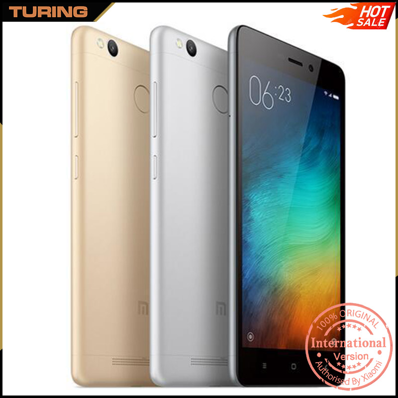 Xiaomi Redmi Red Mi 3S Pro China In India All Mobile Phone 3GB RAM 32GB ROM Android 6.0 Octa Core 5.0 inch 13MP