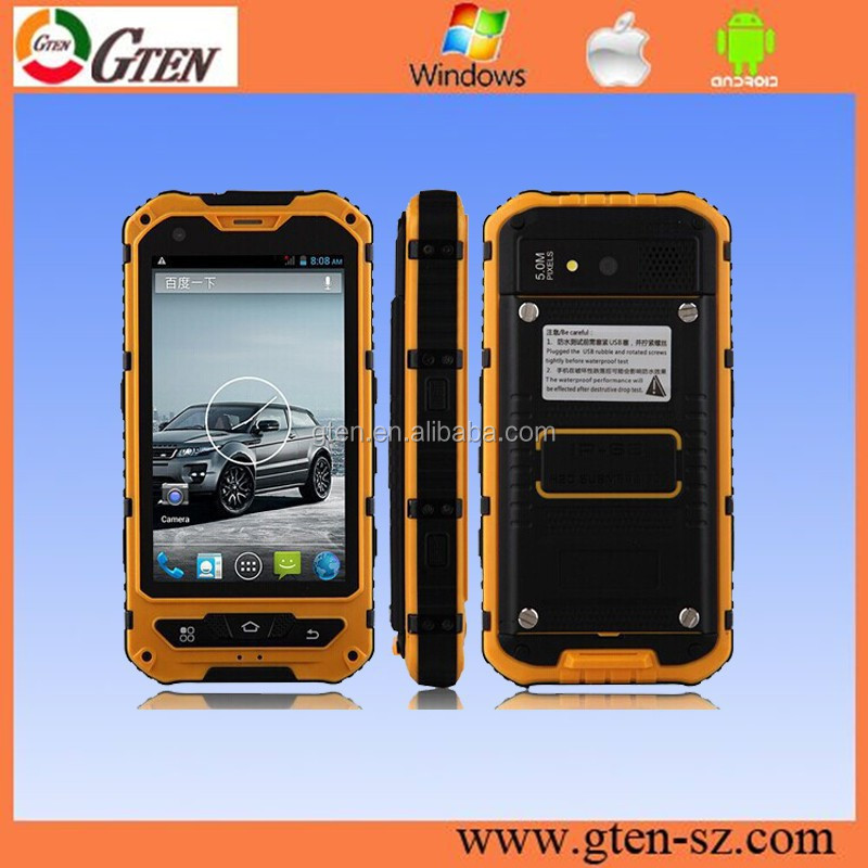 outdoor IP67 smartphone industrial use dustproof shockproof mobile phone smartphone waterproof IP68 top quality rugged mobile a8