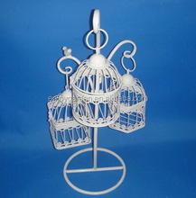 Wholesale outdoor vintage garden wedding iron wire antique bird cage decorative