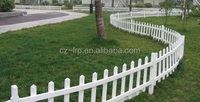 High strength and Anti-corrosion FRP fiberglass fence