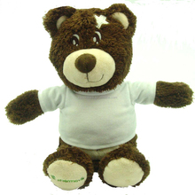 chocolate soft plush teddy bear