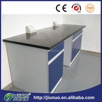 Modern design steel frame marble top balance table / balance bench for laboratory use