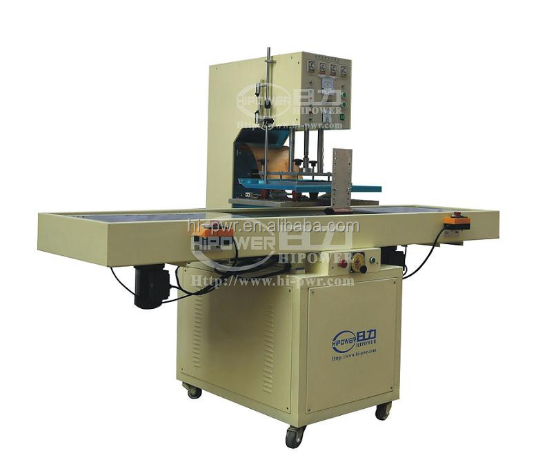 High frequency plastic file making machine