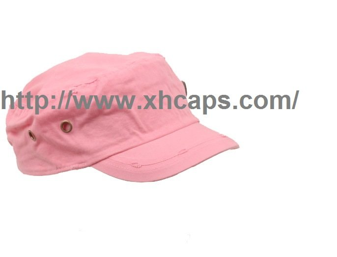 cap with flap