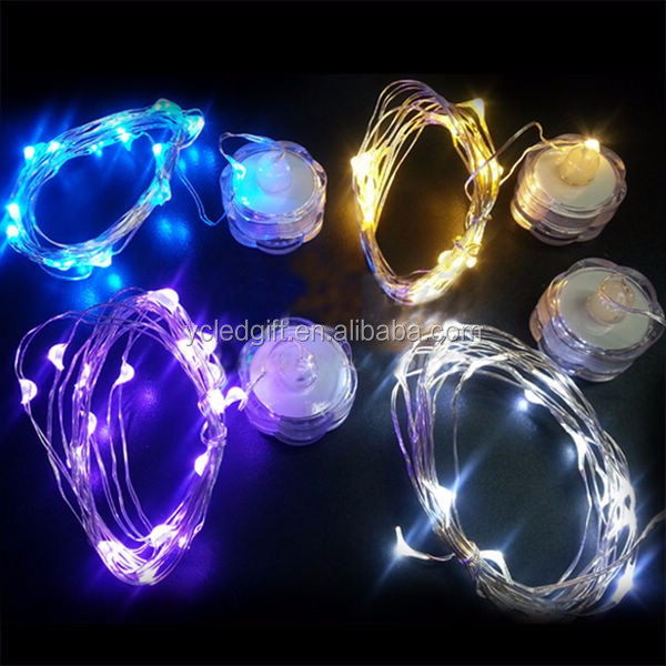 Button Battery Operated Led Christmas Lights Indoor And Outdoor Decoration Copper Wire Fairy Led ...