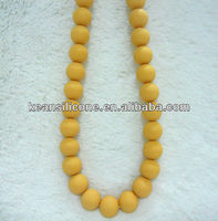 2012 Beads Jewelry/Seed Bead Necklace Designs/Teen Fashion with Silicone Jewelry
