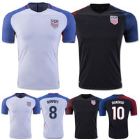 cheap wholesale National soccer jersey top thai quality USA football jersey custom