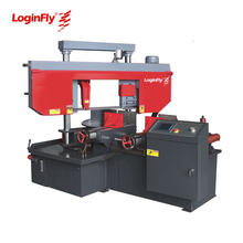 Loginfly CE Quality 0 to 45 degree Industrial Automatic Miter Ban Saw