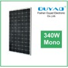 Solar panel 340 watt for DC 12v 6w LED lamps home usage
