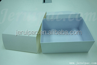 Hand made book shape high end elegant gift paper box with sleeve
