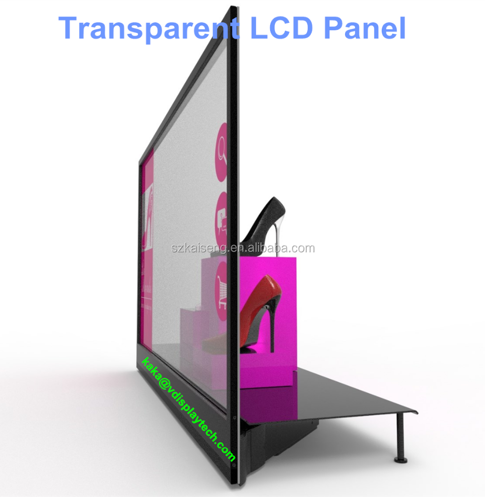 Affordable Transparent LCD Screen/Transparent LCD Touch Screen/Transparent Display Showcase
