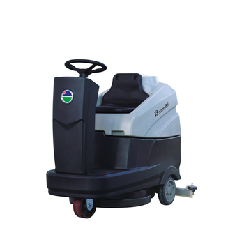 A906 Scrubber Cleaning Equipment Ride-on Floor Scrubber(Compact)