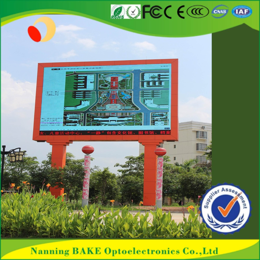 P16 outdoor high brightness advertisement led display led walking publicity
