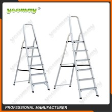 EN131 folding stool metal,a-frame ladder, telescopic aluminum ladder,AF0105C,5steps
