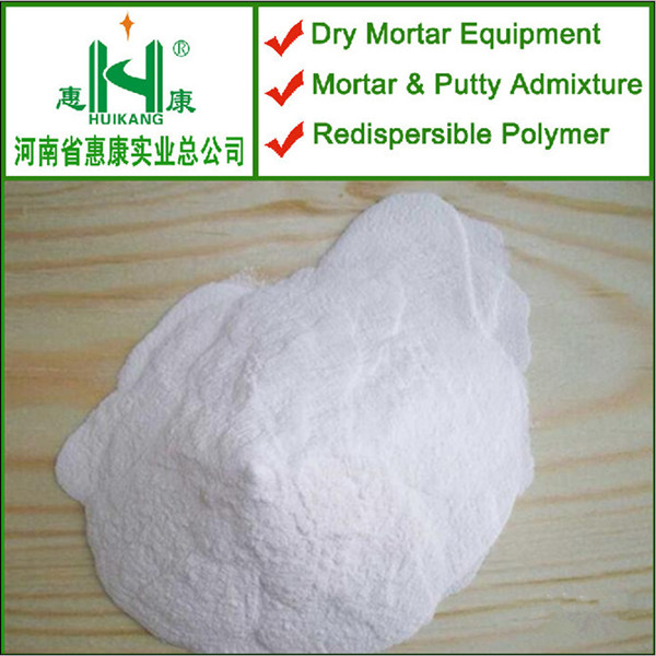 Water based emulsion redispersible polymer powder for gypsum plaster