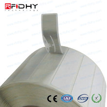 ISO18000-6c Alien H3 chip wet inlay, UHF rfid paper label,blank paper adhesive sticker