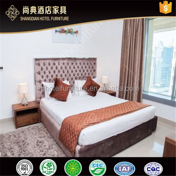 Modern Hotel Apartment Used Furniture Set Bedroom For Sale