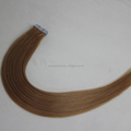 Best Quality Hair Supply 20inch #27 Blonde Chinese Remy Hair Tape Ins