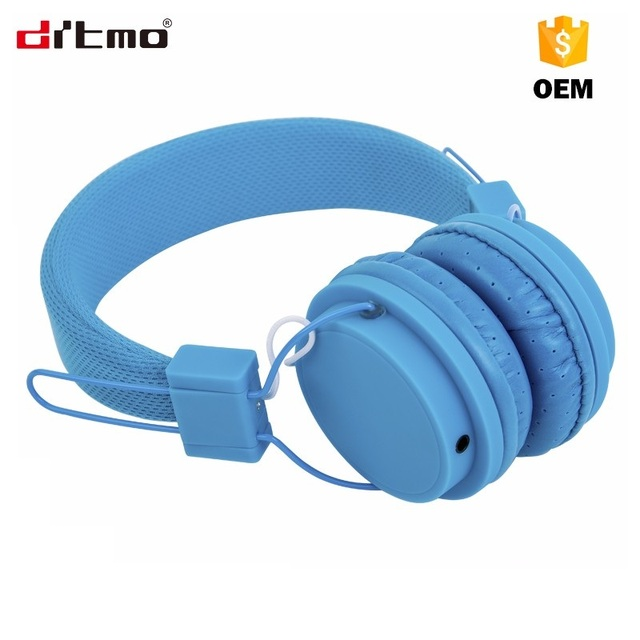 2017 stylish colorful high quality cheap price hot sell amazon classic model DM 2650 3.5mm jack wired headphone with mic headset