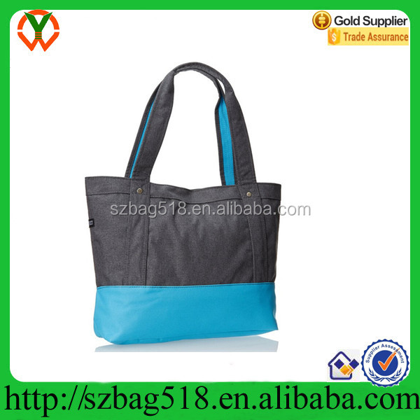 Factory Price Polyester Blue Fabric Beach Bag For Men