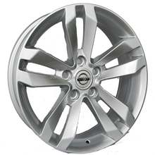 17 inch deep dish aluminum wheels rims for truck on sale (ZW-xj133)