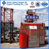 Supply New China SC200/200, 2*2t, 2*20 passengers, Construction Hoist/Elevator/Lifter