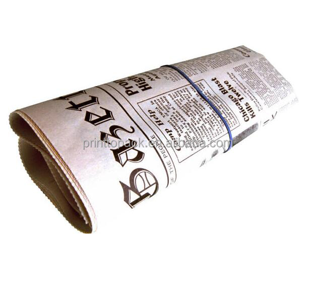 Good quality newspaper printing, prompt newspaper printing