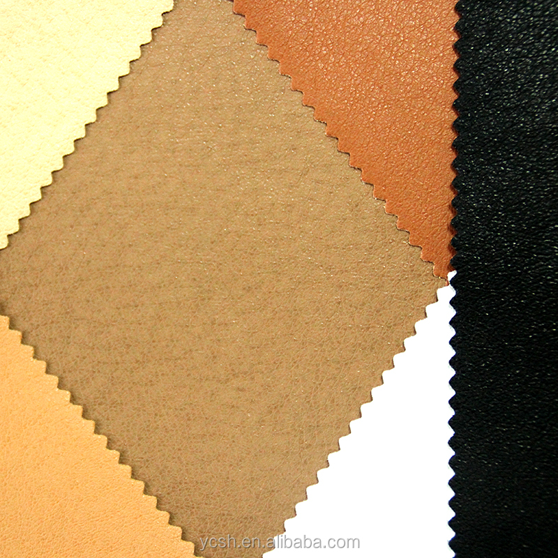 china pig skin synthetic leather for making shoes lining material