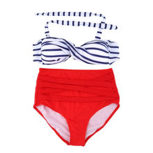 hot super micro cheap push up high waist red bikini