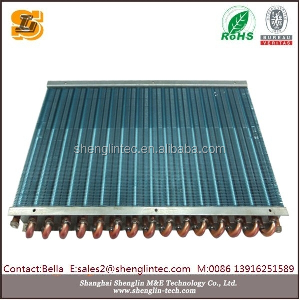 air to liquid high temperature copper tube liquid nitrogen heat exchanger