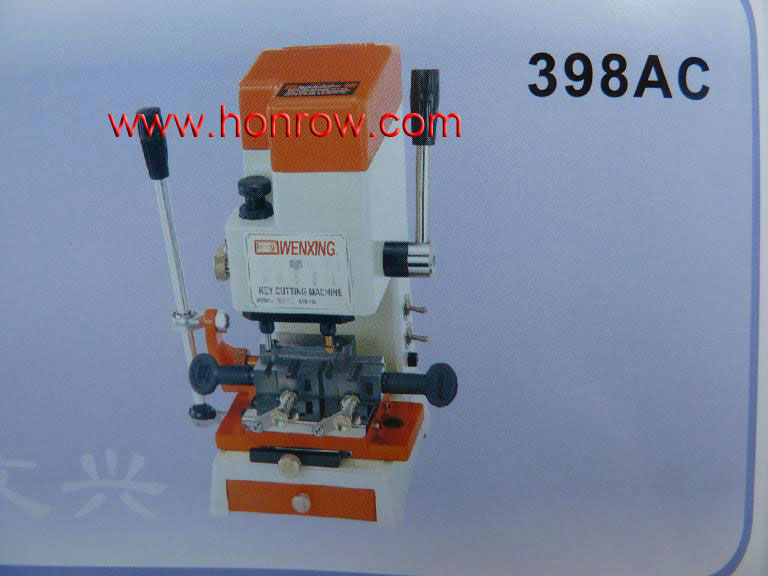 High Quality Model 398AC WenXing key cutting machine with vertical cutter,key milling machine
