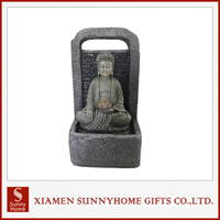 Outdoor Decoration Sitting Buddha Statue Water