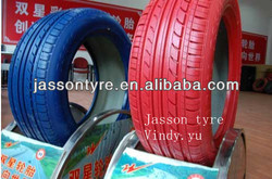 Good quality color tires for cars Double star buy tires direct from china