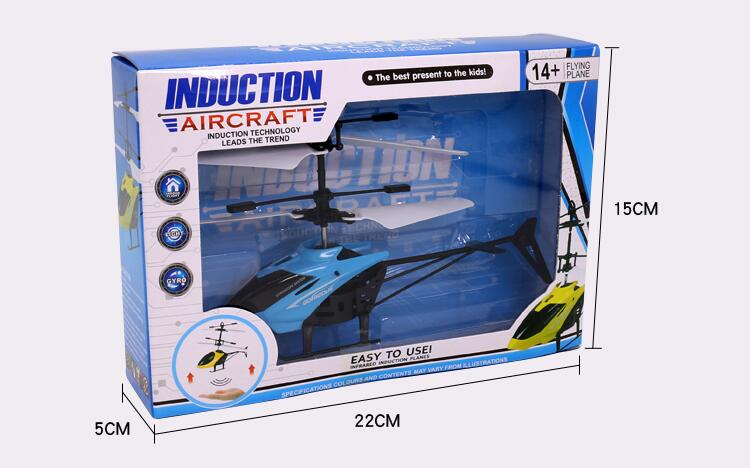 Mini remote control Helicopter Hand Induction Flying Aircraft toys