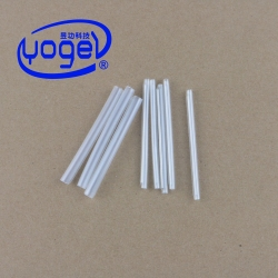 clear plastic fiber optic cable protection sleeve heat shrinkable bush for fusion splicing