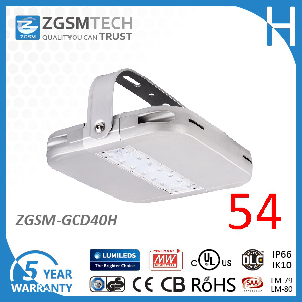 High Efficacy Hot Selling Us Market 24V LM80 Energy Efficient 40W Industrial LED Light