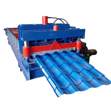 Building materical glazed tile roofing sheet machine