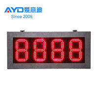 chinese top selling products in alibaba electronic oil station led digital price display