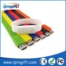 Promotional gift Custom logo full capacity pen drive Bracelet usb flash drive bracelet wristband 256MB 512MB 1GB 2GB 4GB 8GB