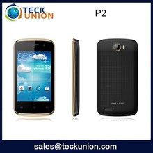 P2 3.5inch mobile phone touch screen no brand smart phone android 4.2.2