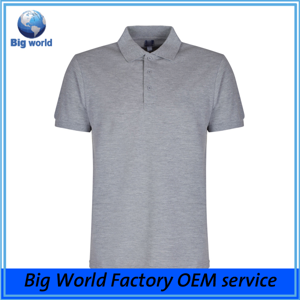 2017 men summer 100% cotton polo shirt golf t shirts