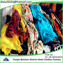 Used clothes Ladies dress Bulk Used clothing for sale