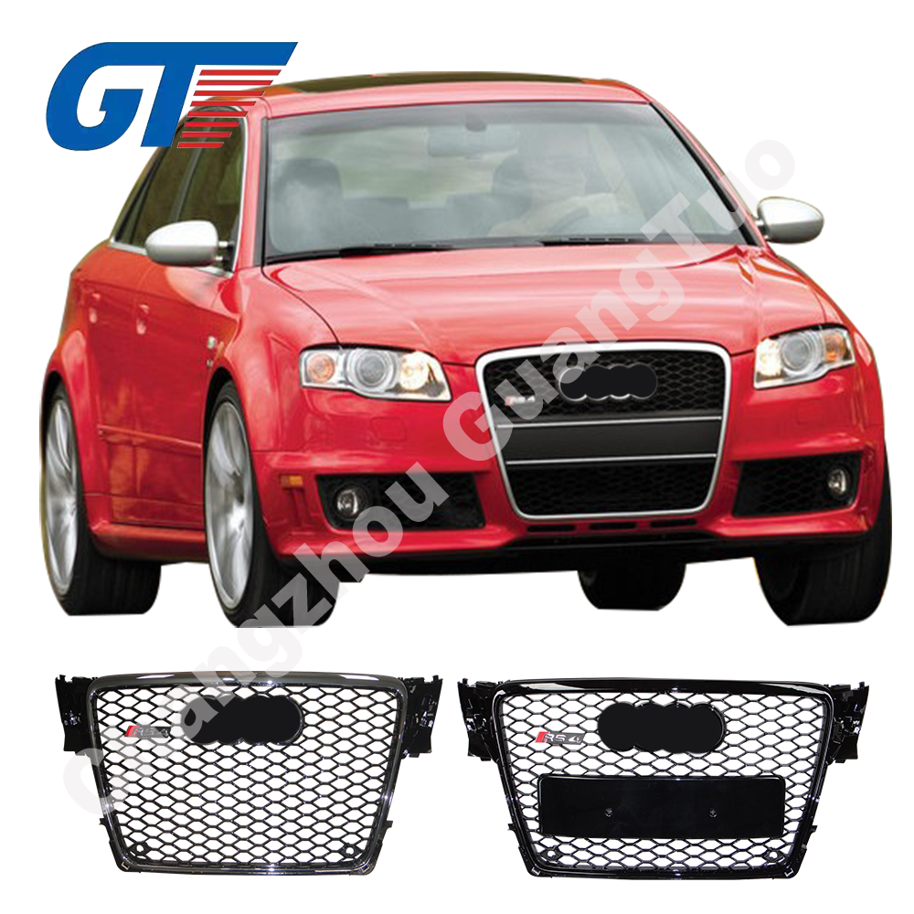 car parts for Audi A4 B8 grille 2008-2012 tuning parts for cars