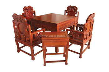 Rose wood Frame Automatic mahjong tables