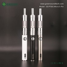 GS PTS01 branded e-cigarette electronic cigarette hookah cigarros electronicos Wholesale