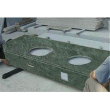 Natural Granite/Marble Stone Green Marble for Customized Countertops/Vanity Tops with High Quality