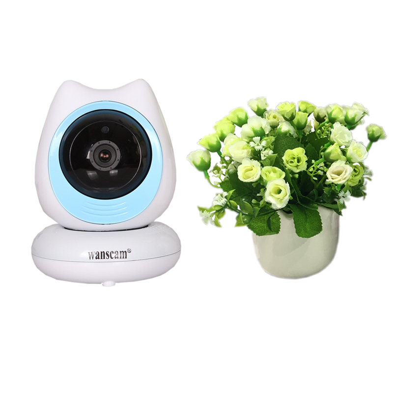 Wanscam Top <strong>1080P</strong> Full HD One Key Setting Onvif TF Card Recorder Wireless Baby Monitor with Mini Web IP Camera