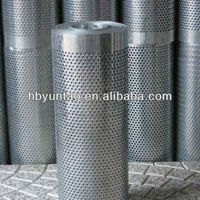 Direct factory perforated metal mesh filter tubes with fatory price