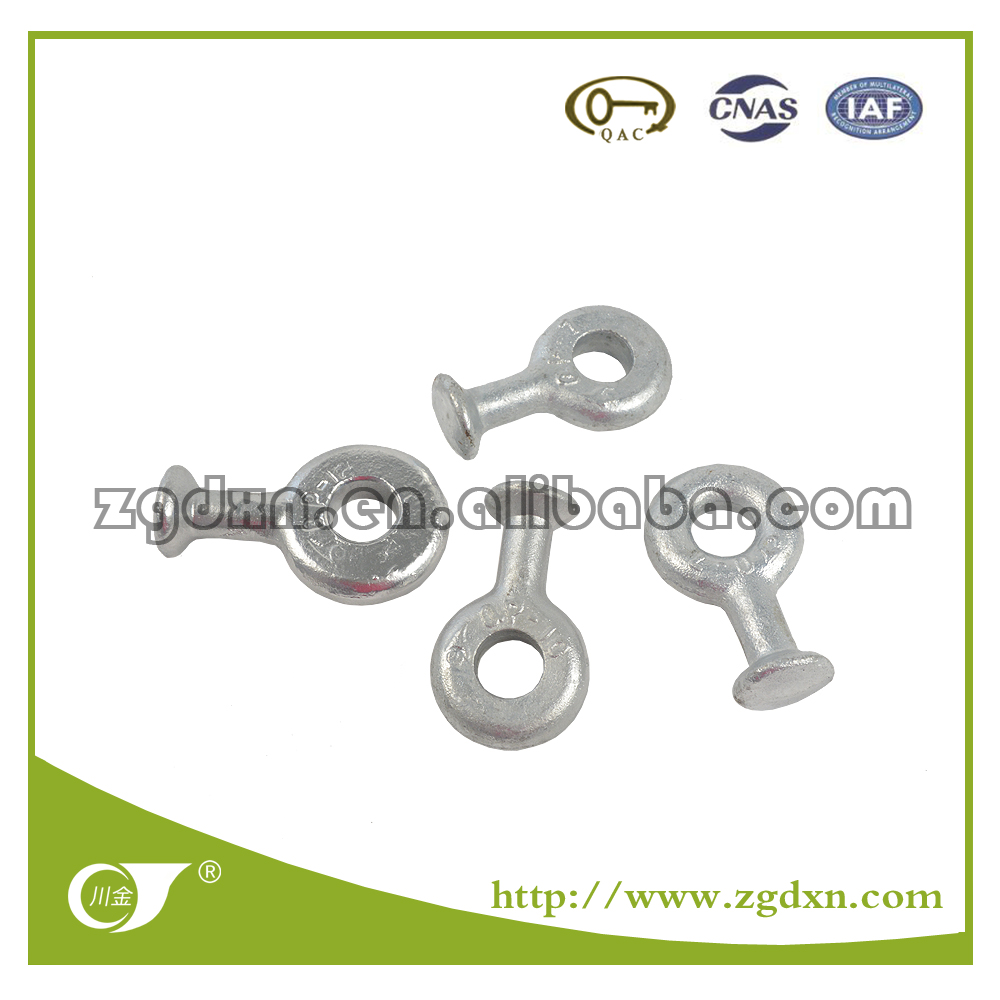 Excellent Quality HDG steel ball eye Q/QP Type